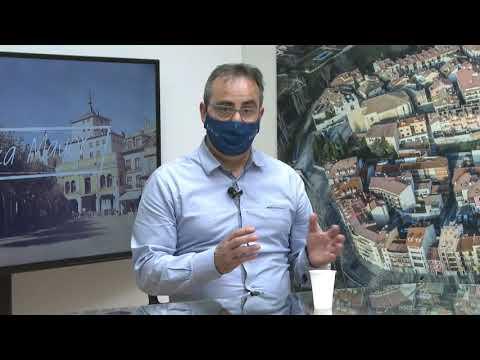 REBI SLU: Tasio Martín y Constantino Álvarez explican cómo pueden beneficiarse los vecinos de la Red de Calor de Aranda de las ayudas de Rehabilitación de Vivie