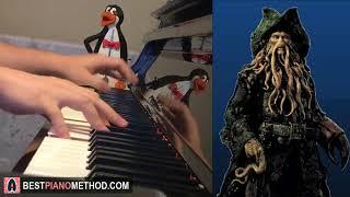 Davy Jones Theme - Pirates of the Caribbean (Piano Cover by Amosdoll)