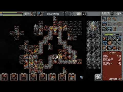 Play in Loop Hero demo ver