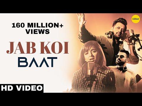 JAB KOI BAAT bigad jaye Lyrics - Atif Aslam, Shirley Setia | DJ Chetas