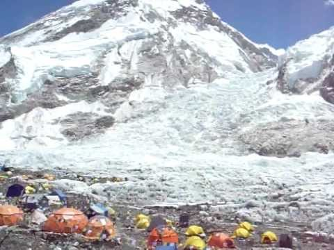 Mount Everest Base Camp – khumbu ice fall