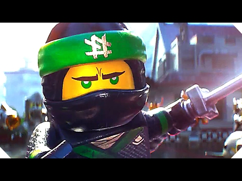 THE LЕGΟ NINJАGΟ MOVIE Trailer (Animation, 2017)