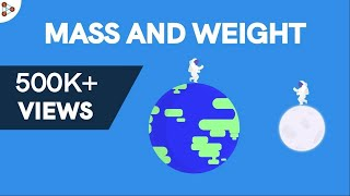 Physics - Are Mass and Weight the same thing?