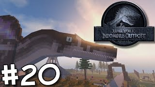Minecraft Jurassic World: Indominus Outpost - It's Spinosaurus Time! #20