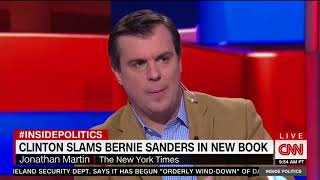 CNN Panel Covers Hillary Clinton's New Attacks Against Bernie Sanders