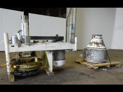 Used- Entoleter Centrifugal Impact Mill, Carbon Steel - stock # 48714003