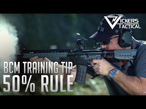 BCM TRAINING TIP - LAV'S 50% RULE