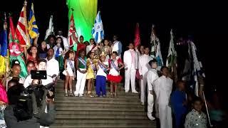 Corte do carnaval 2017 mirim na festa de 86 anos do Cristo Redentor