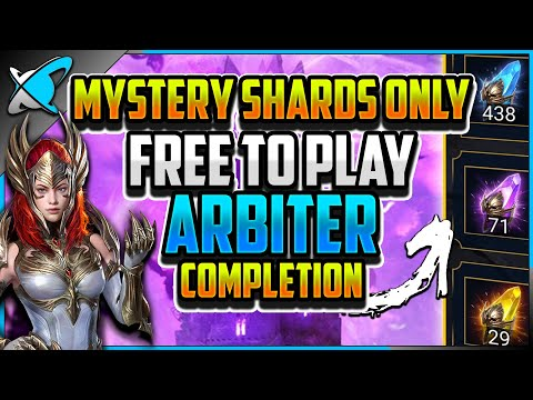 """MYSTERY SHARDS ONLY... FREE TO PLAY... ARBITER... COMPLETED! 