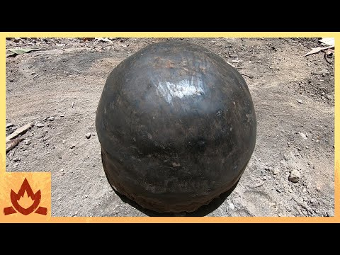 Primitive Technology: Pot Made of Wood Ash – New Clay Alternative