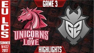 G2 Esports vs UOL Highlights Game 3 | EU LCS Week 4 Summer 2017 | G2 vs UOL G3