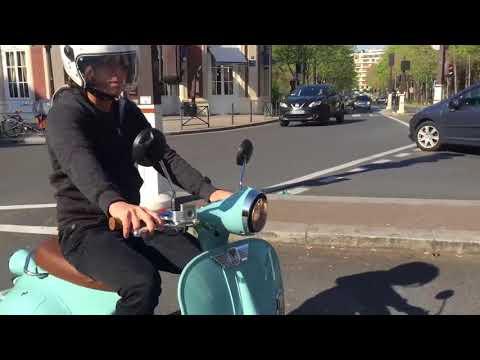 2TWENTY Electric Scooter in Paris 720p