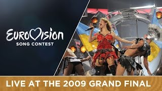 Svetlana Loboda - Be My Valentine (Anti-Crisis Girl) (Ukraine) Live 2009 Eurovision Song Contest