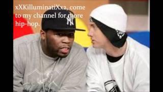 """50 Cent ft. Eminem ft. Nate Dogg """"Till I Collapse"""" (REMIX)"""