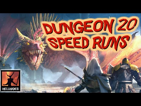 RAID: Shadow Legends | HOW TO SPEED FARM LEVEL 20 DUNGEONS! Dragon, Spider, Ice Golem & Fire Knight!