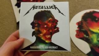 Metallica- Hardwired...To Self-Destruct Three Disc Deluxe Edition Unboxing