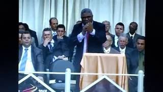Pr. Genival Bento - Ministra Palavra de Avivamento para o Brasil. ( USADEMI 2015)