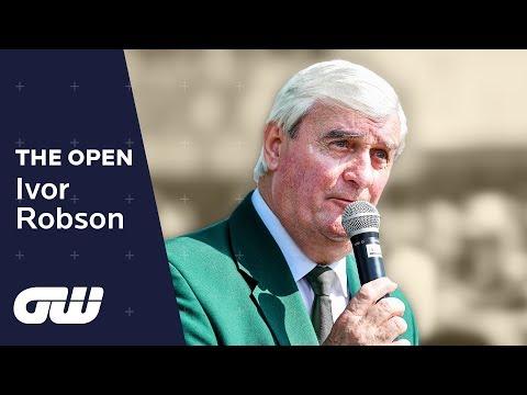 Ivor Robson: My Career as The Open Championship Starter   Golfing World