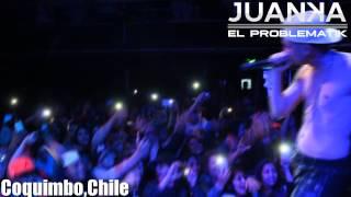 Juanka El Problematik - Concierto en Coquimbo,Chile 2015