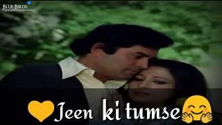 Tum Aa Gaye Ho whatsapp status