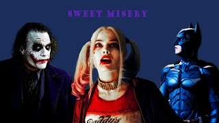 the joker + harley quinn [feat. batman] sweet misery