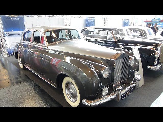 1960 Rolls-Royce Silver Cloud II - Exterior and Interior - Klassikwelt Bodensee 2016