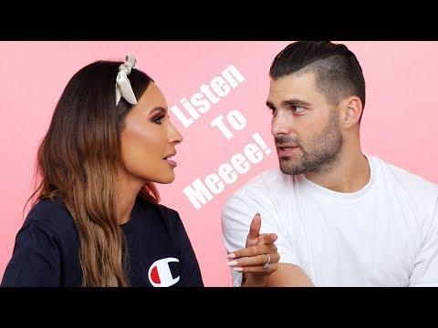 HUSBAND Q&A: HIDDEN TATTOOS, RELATIONSHIP ISSUES, WORKING TOGETHER | DESI PERKINS