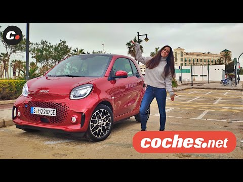 Smart EQ fortwo y forfour | Primera prueba / Test / Review en español | coches.net