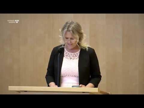 Ann-Christine From Utterstedt - regeringens strategi offrar våra äldre