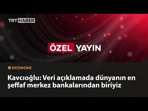 Merkez Bankası Başkanı Şahap Kavcıoğlu – Özel Yayın – 23.04.2021