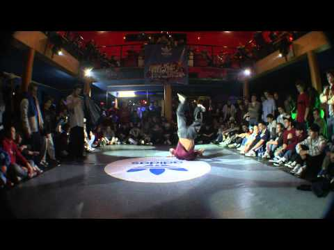 Loba (East side b-boys) vs Uho (H-Blast)