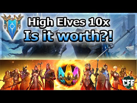 RAID Shadow Legends | 10x High Elves | Is it worth?!