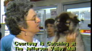 Courtesy Is Catching Music Video Jefferson Valley Mall 1987