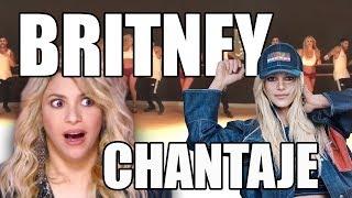 "Britney Spears baila ""Chantaje"" y Shakira le responde"