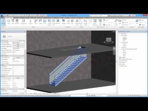 Steelpro staircases and railings - Revit
