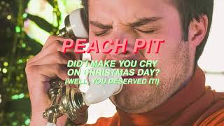 Peach Pit - Did I Make You Cry On Christmas Day? (Sufjan Stevens Cover)