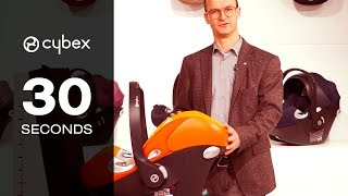 30 seconds with CYBEX  - Aton Q i-size installation