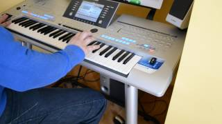 Filatov & Karas – Tell It To My Heart - Yamaha - Keyboard - Tyros 4 (Cover)