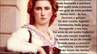 Amália Rodrigues-CARMENCITA-Áudio com letra