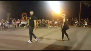 Salsa esibizione Italy Dance Village