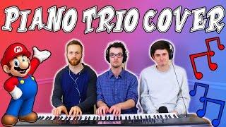 Super Mario World - Athletic Theme (Piano Trio + Beatboxing)