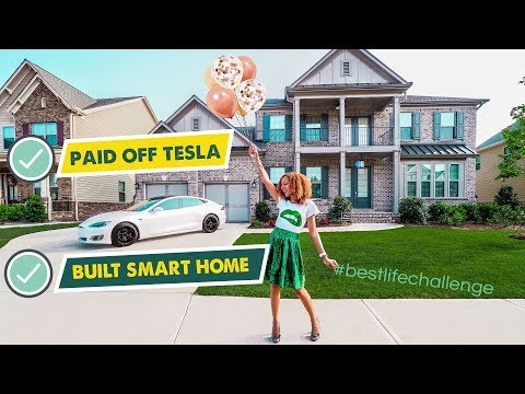 HOW I PAID OFF MY TESLA IN 1 YEAR and BUILT A SMART HOME!