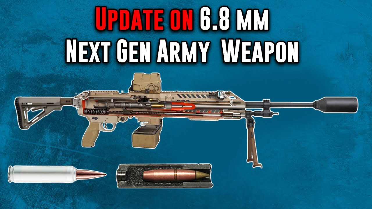 Update on the New US Army 6.8 mm Next Generation Squad Weapon