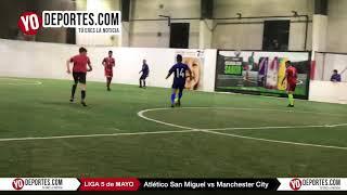 Atletico San Miguel vs. Manchester City Liga 5 de Mayo