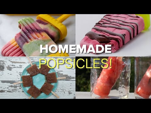 Homemade Popsicles Are The Best!