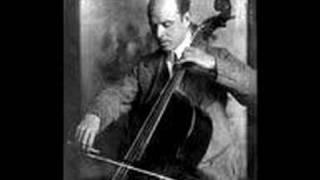 Pablo Casals plays Bach Suite #1