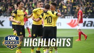 Borussia Dortmund vs. FSV Mainz 05 | 2019 Bundesliga Highlights