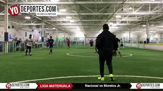 Nacional vs. Morelos Jr.  Liga Matehuala Semifinal Recopa en Melrose Park