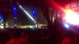 Paranormal Attack - Omen (Prodigy Remix) live on Playground Music Festival 2013 - Fortaleza-CE