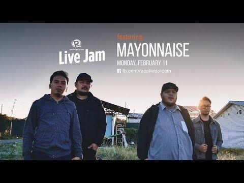 [WATCH] Rappler Live Jam: Mayonnaise